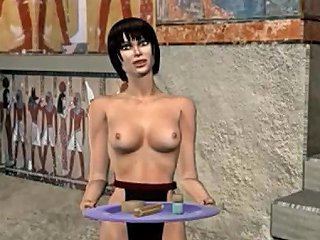 H2porn Sex Video - Bisexual Pharaoh Fucks Soldier And Female Slave 3d Mmf Gay Cartoon Anime
