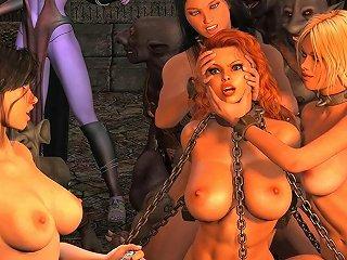 XHamster Sex Video - Dark Witch Diaporama Hentai Hd Porn Video 8b Xhamster