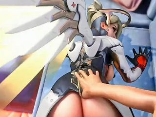 PornHub Sex Video - Try Not To Cum Challenge With Overwatch Mercy